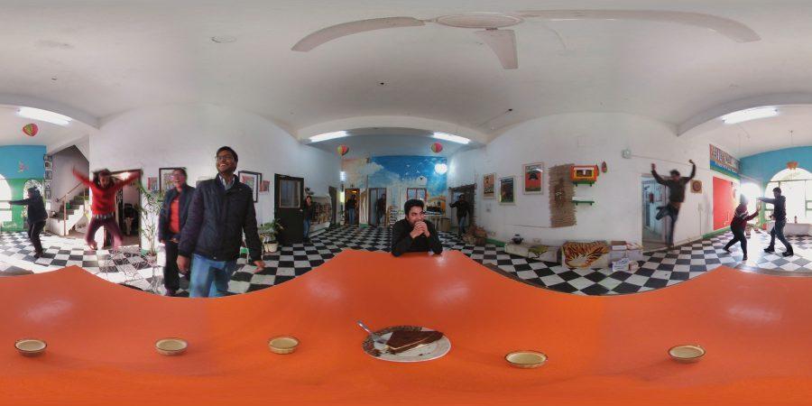 Hello 360 Virtual Reality!