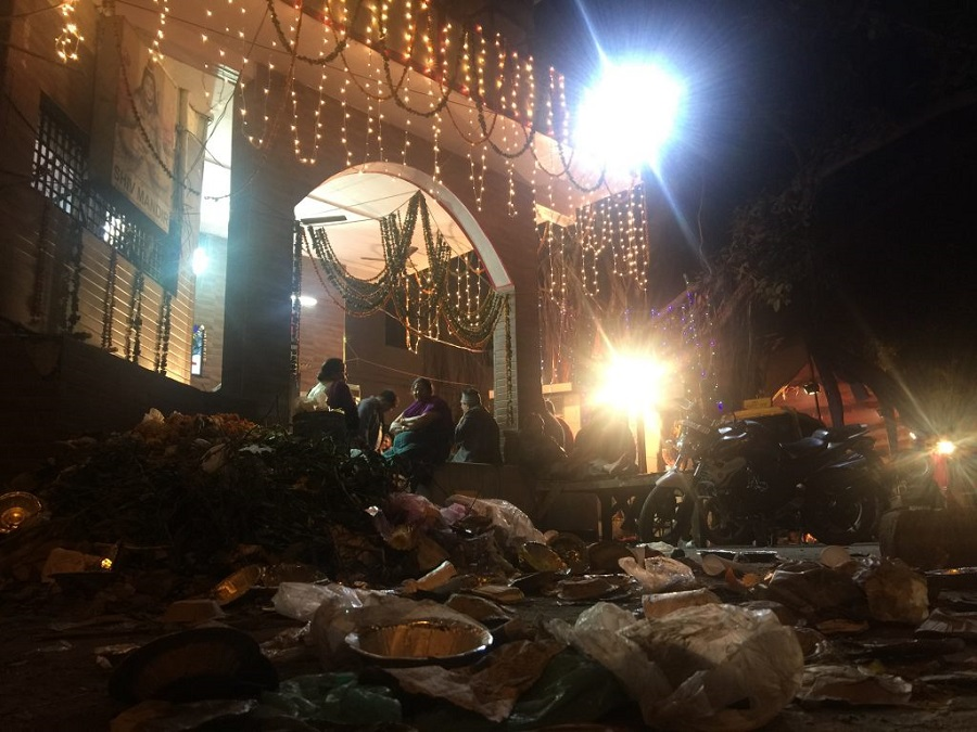 No divinity in garbage heaps.