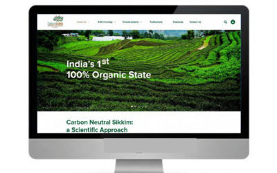 Communication Design for a Carbon Negative Future, Launch of SikkimCIMS- the First State-based Climate Inventory and Monitoring Portal